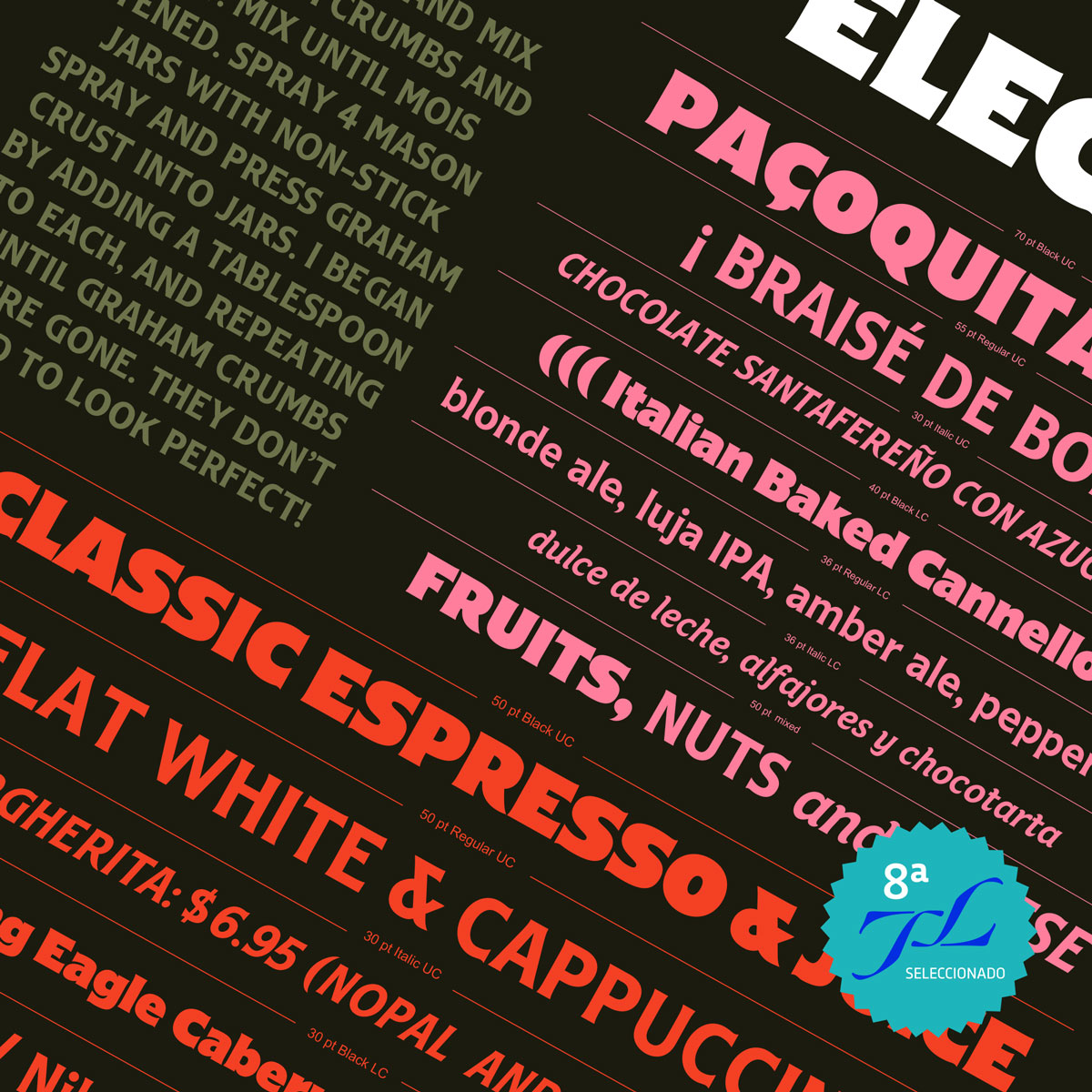 Electrica Typeface